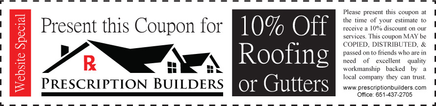 Minneapolis Roofing Coupon